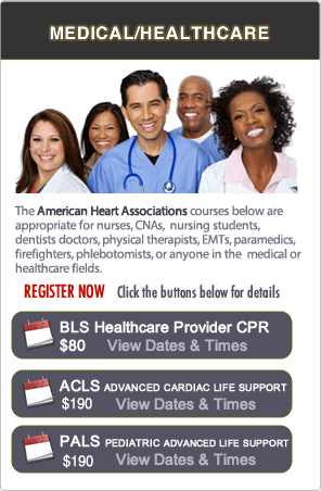 San Ramon BLS CPR Renewal Classes
